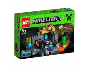 LEGO 21119 Minecraft Hladomorna