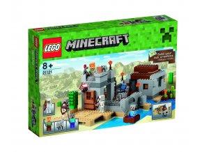 LEGO 21121 Minecraft Pouštní hlídková stanice