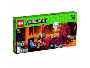 LEGO 21122 Minecraft Podzemní pevnost