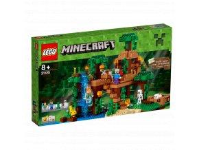 LEGO 21125 Minecraft Dům na stromě v džungli