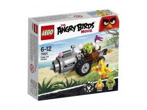LEGO 75821 Angry Birds Piggyho útěk v autě
