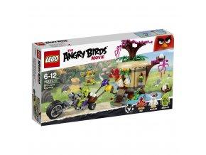 LEGO 75823 Angry Birds Krádež vajíčka na ptačím ostrově