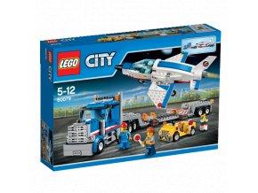 LEGO 60079 City Transportér pro převoz raketoplánu