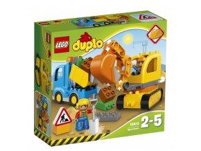LEGO 10812  DUPLO Pásový bagr a náklaďák