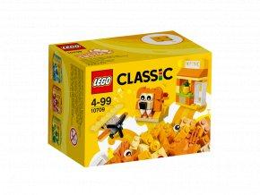 LEGO 10709 Oranžový kreativní box