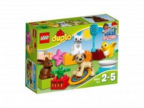 LEGO 10838 DUPLO Domácí mazlíčci