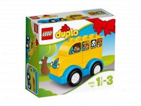 LEGO 10851 DUPLO Můj první autobus