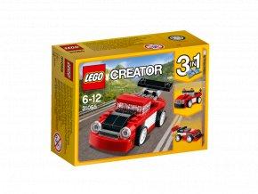 Lego 31055 Creator Červené závodní auto