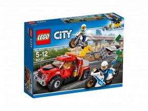Lego 60137 City Trable odtahového vozu
