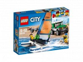 Lego 60149 City 4x4 s katamaránem