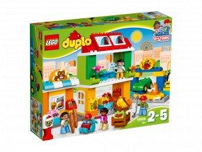 LEGO 10836 DUPLO Náměstí
