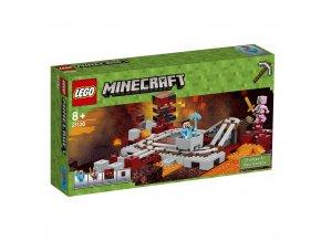 LEGO 21130 Minecraft Podzemní železnice