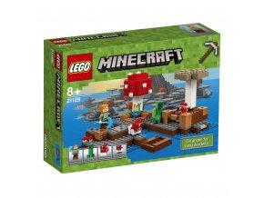 LEGO 21129 Minecraft Ostrov hub