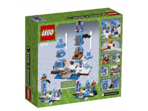 LEGO 21131 Minecraft Ledové ostny