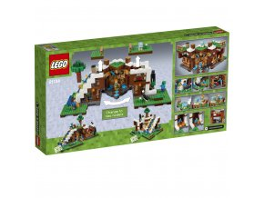 LEGO 21134 Minecraft Základna ve vodopádu