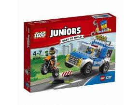 LEGO 10735 Juniors honička s policejní dodávkou