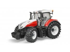 BRUDER 3180 Traktor STEYR 6300 Terrus CVT