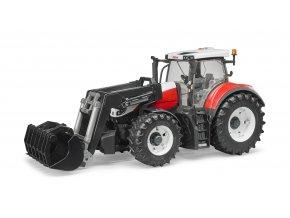 Traktor STEYR 6300 Terrus + čelní nakladač