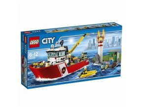 LEGO 60109 City Hasičský člun