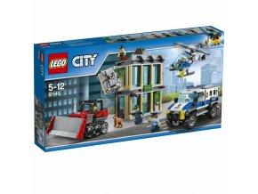 LEGO 60140 City Vloupání buldozerem