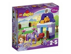 LEGO 10594 Duplo Princezna Sofie-stáje