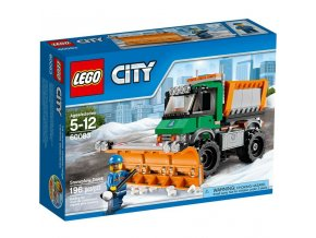 LEGO 60083 City sněžný pluh