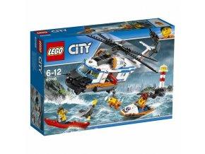 LEGO 60166 City Výkonná záchranářská helikoptéra
