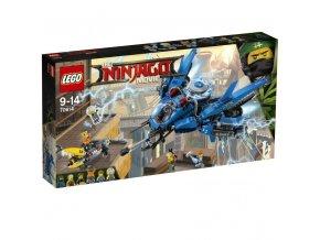 LEGO 70614 NinjaGo Blesková stíhačka