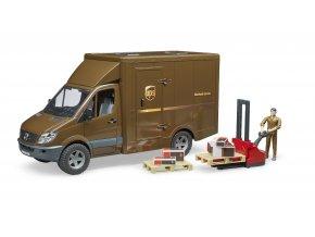 MERCEDES BENZ Sprinter - UPS,řidič a přísl.