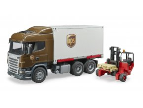 Nákladní auto SCANIA - kontejner, vozík