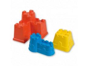 Androni-bábovky hrad 3ks