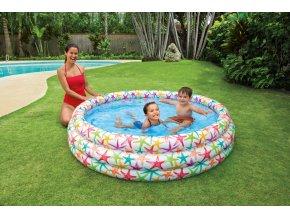 Intex bazén mořský život 168x41cm