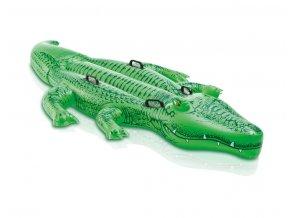 Intex nafukovací krokodýl 203x114cm