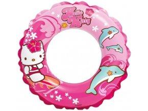 Intex plovací kruh 51cm,  Hello Kitty