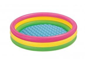 Intex bazén duhový 147x33cm