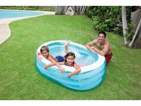 Intex bazén oválný 163x107x46