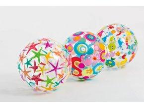 Intex míč 51cm,barevný