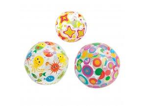 Intex míč 61cm,barevný