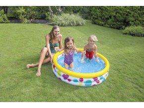 Intex bazén geometrie 147x33cm