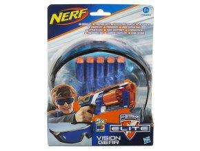 Nerf Elite Brýle+5ks šipek