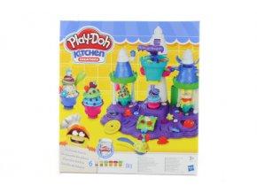 Play-Doh zmrzlinový zámek