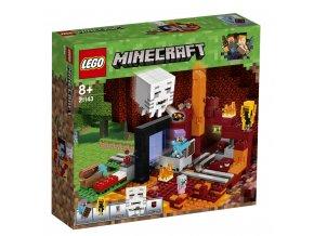 LEGO 21143 Minecraft Podzemní brána