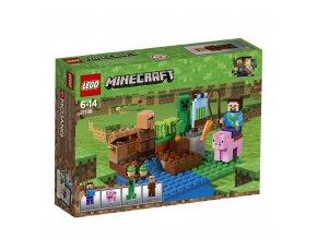 Lego 21138  Minecraft Melounová farma