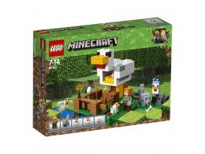 Lego 21140 Minecraft Kurník
