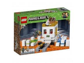 Lego 21145  Minecraft Bojová aréna