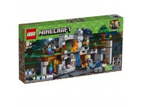 Lego 21147 Minecraft Skalní dobrodružství