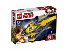 Lego 75214 Star Wars Anakinův jediský Starfighter
