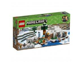 LEGO 21142 Minecraft Iglú za polárním