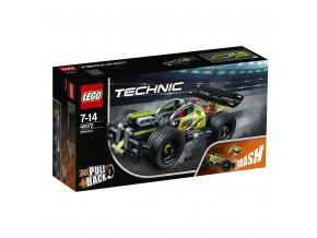 LEGO 42072 Technic Zelený závoďák