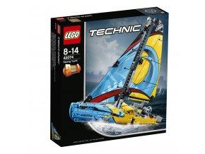 LEGO 42074 Technic Závodní jachta